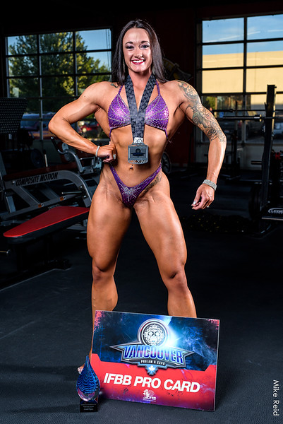 IFBB Pro Bailey Breedlove July 2019