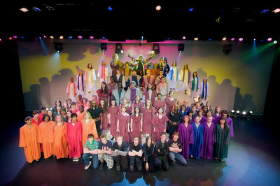 2009, Joseph and the Amazing Technicolor Dream Coast Cast and Pit Photos