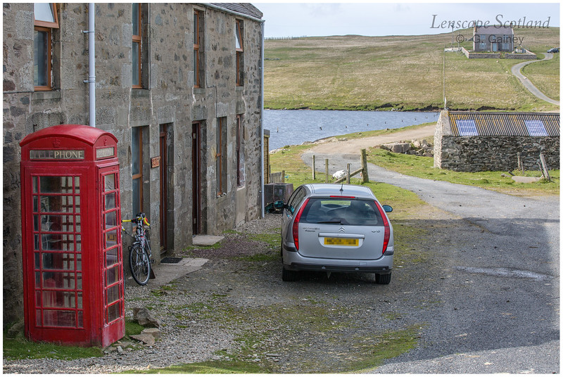 Telephone box, Gutcher, Isle of Yell