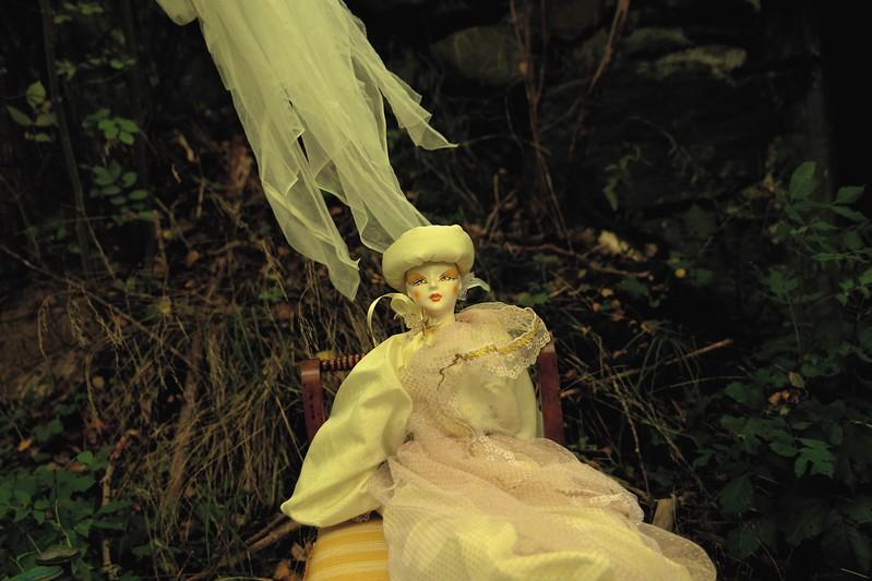 Porcelain Dolls , Drums & Dream Catcher
