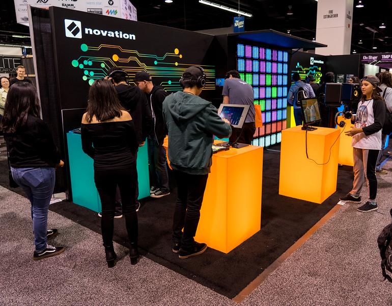 Novation Booth
