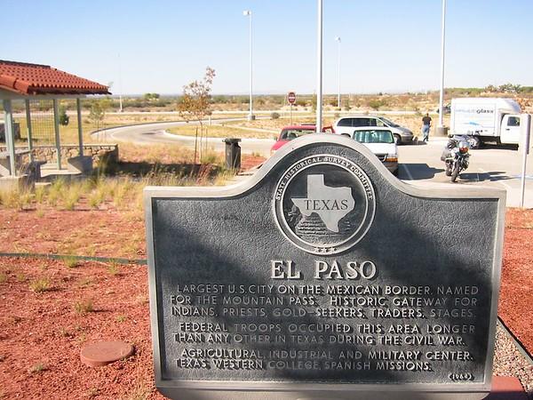 Odyssey  (ElPaso, Texas & The Border)