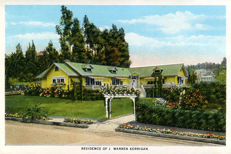 Residence of J. Warren Kerrigan