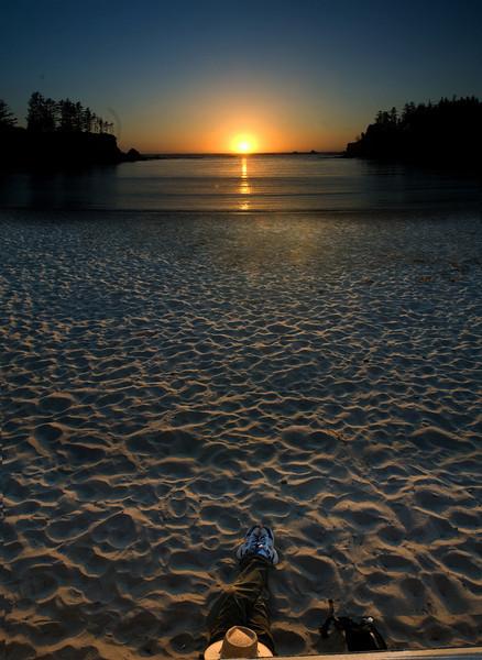 Gary and sunset - Sunset Bay 071008 copy.jpg