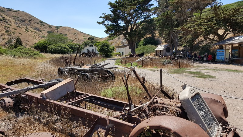 Historic Scorpion Ranch on Santa Cruz Island, Channel Islands National Park, California