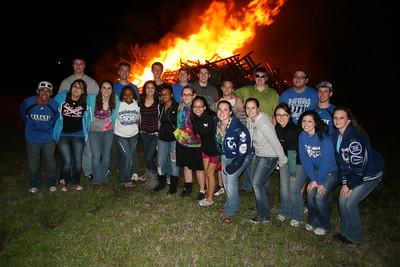 Celeste High School Senior Bonfire