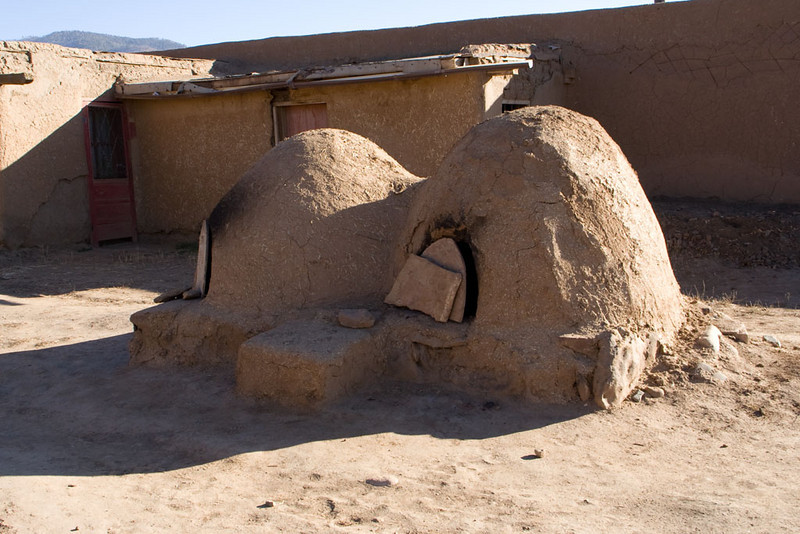 """These are """"hornos"""", outdoor ovens. It looked like just about every house had their own."""