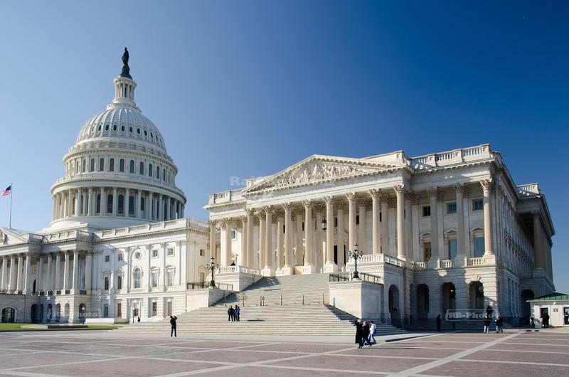 The U.S. Capitol in Washington D.C.