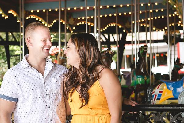 Jaclyn & Allen Engagement Portraits 2017