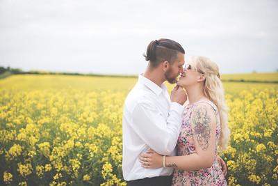 Lynsey & Dan Rapeseed Engagement