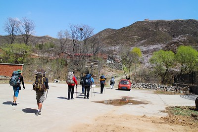 reat Wall trekking /camping from Chen Castle to General Xu Great