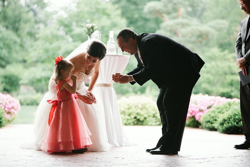 Anderson Japanese Gardens Summer wedding Ceremony