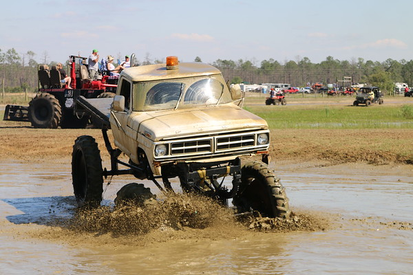 Redneck Mud Park Spring Break Thursday