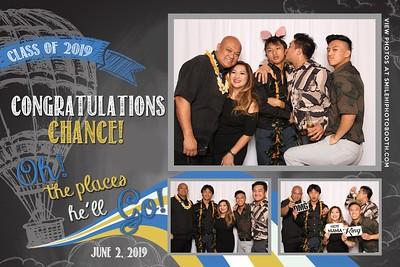 Chance's Graduation Party
