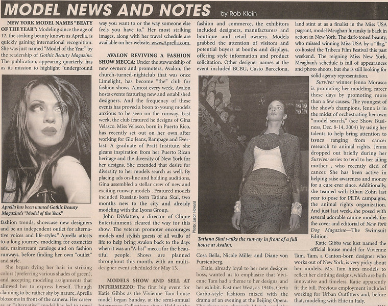 SHOW BUSINESS WEEKLY | MAY 2005