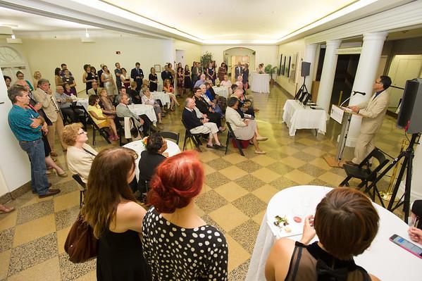 9/18/15 Art Conservation Room Naming Ceremony
