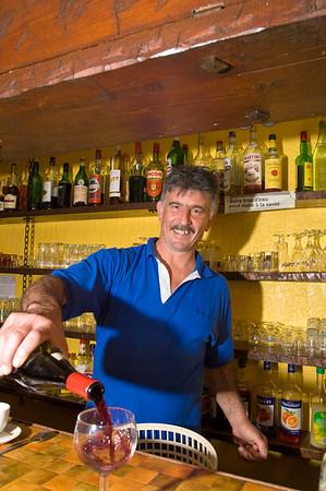 "Europe, France, Provence, Utelle, ""Auberge Utelloise"" restaurant - owner: Max Spinelli at work"