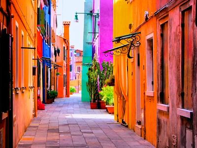 MURANO -BURANO, ITALY