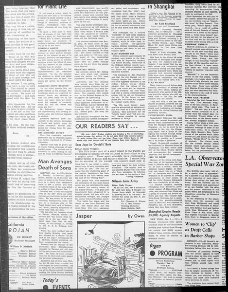 Daily Trojan, Vol. 33, No. 61, December 15, 1941