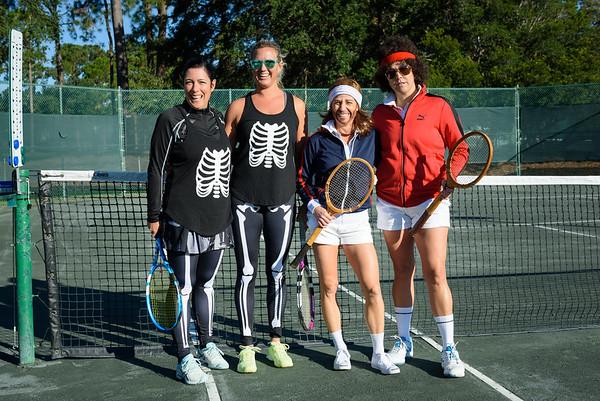 Ladies Halloween Tennis