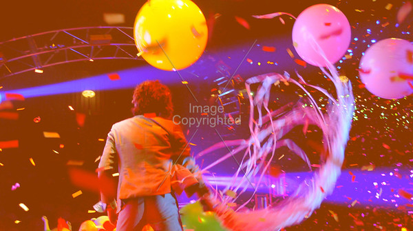 Wayne Coyne, The Flaming Lips, New Years Eve 2009 Freakout.