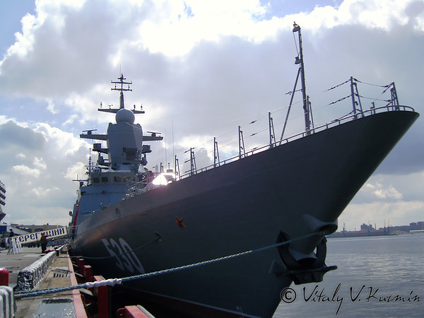 International Maritime Defence Show IMDS-2007 in St. Petersburg