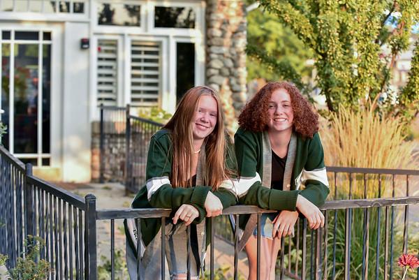 Hailey and Elle