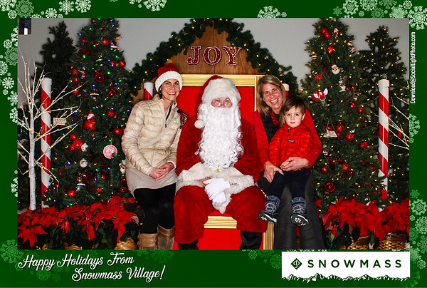 The Town Of Snowmass Village Presents: Photos With Santa 2019: Day 3