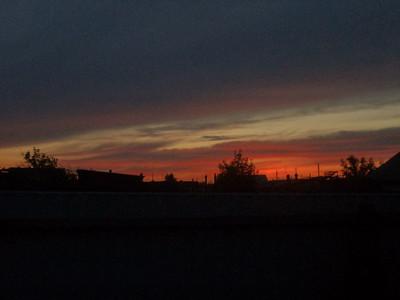Позднее небо Сибири