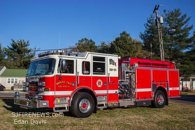 Downe Twp. Fire Co. (Cumberland County NJ) New Engine 39-01