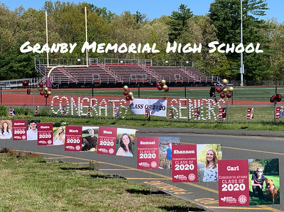 2020_05_21 GEF Grad Signs for GMHS Class of 2020