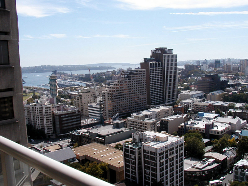 View From My Suite in Sydney Marriott