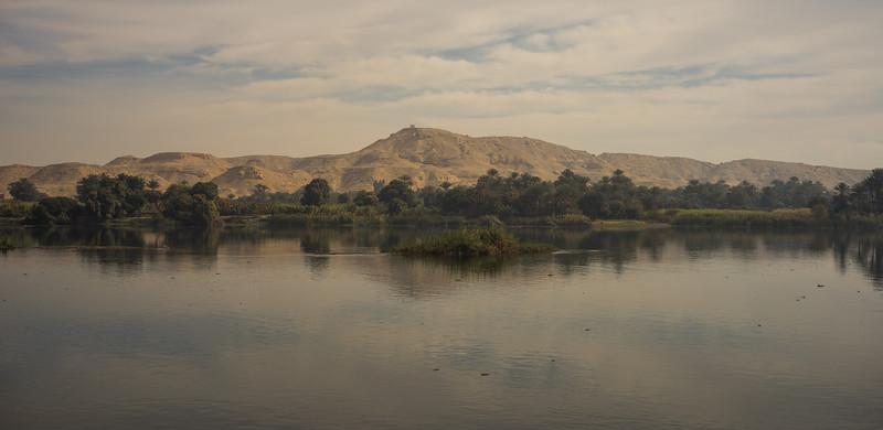 La orilla del Nilo