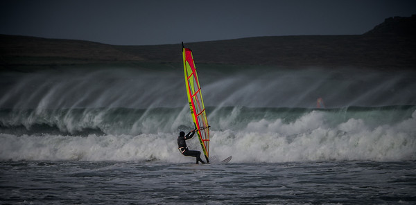 Wind Surfing in the Dingle Peninsula