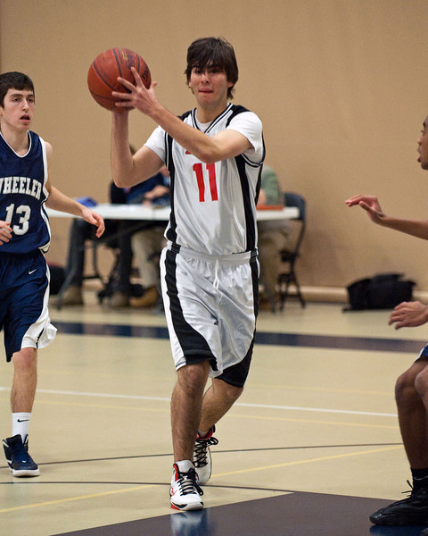 PCD JV Basketball v Wheeler 2-15-12