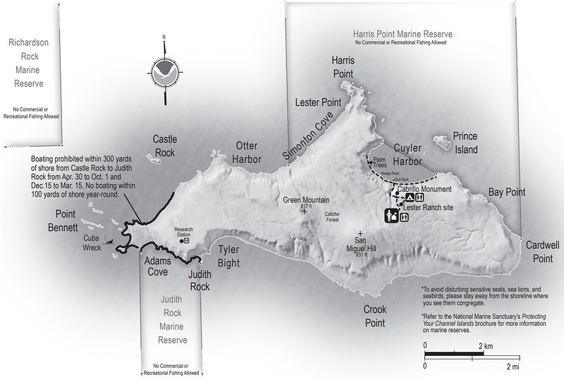 Channel Islands National Park (San Miguel Island)