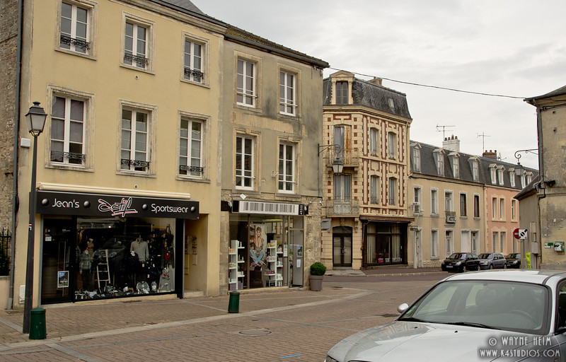 Street in Normandy 3       Photography by Wayne Heim