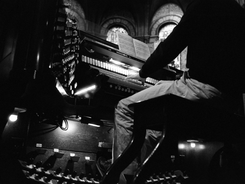 Michael Kleinschmidt plays Danse Macabre on the Trinity Church organ.