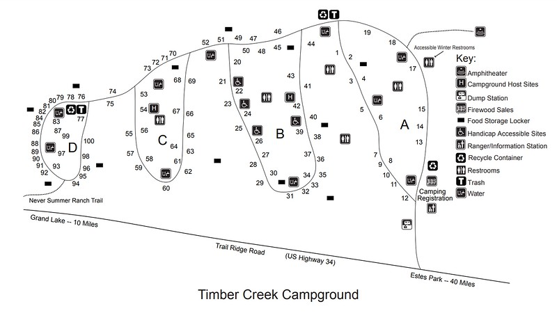 Rocky Mountain National Park (Timber Creek Campground)