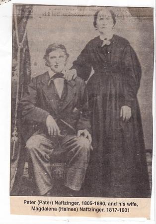 Naftzinger, Peter & Magdalena Hehn (Haines)