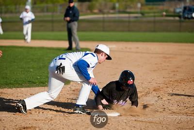 Minneapolis Southwest v Washburn Baseball 4-11-12