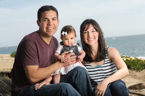 Shaina + Sam = Scarlet (Family Photography, Sunny Cove Beach, Santa Cruz, California)