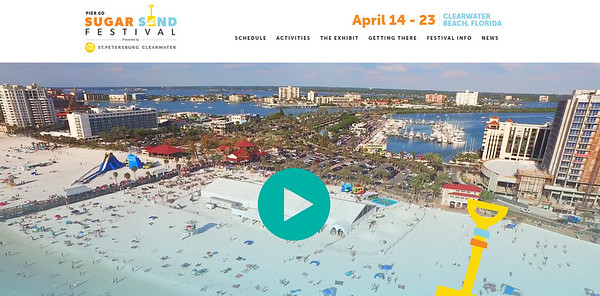 2017...Pier 60 Sugar Sand Festival,Clearwater Beach,Fl.