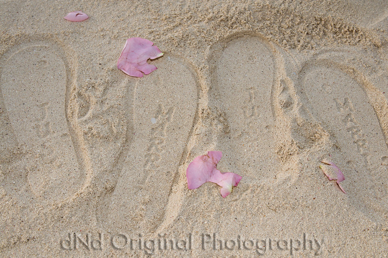 109 Wedding & Dinner - Just Married Sandle Prints.jpg