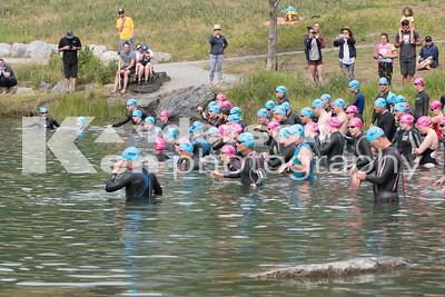 2017 Grizzly Open Water Swim Start