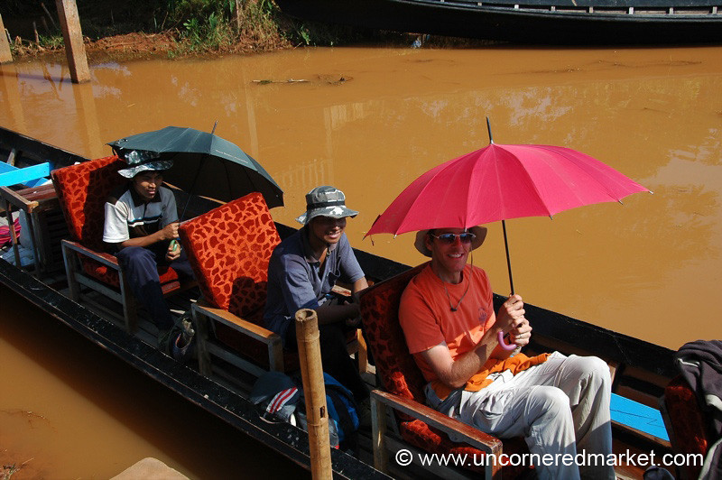 Boat Ride - Inle Lake, Burma