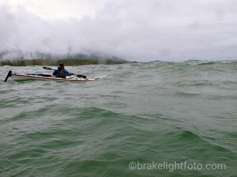 Rough Seas  on Nuchatlitz Inlet