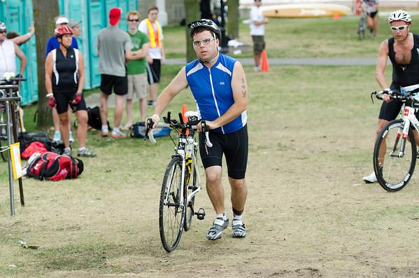 Bikers at 2012 K-Town Tri