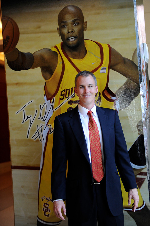 . Andy Enfield is USC\'s new men�s basketball coach, Wednesday, April 3, 2013. (Michael Owen Baker/Staff Photographer)