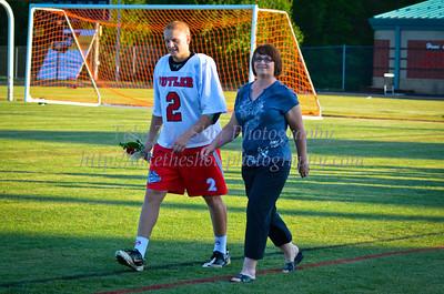 2012-04-16 BHS Men's Lacrosse - Senior Night
